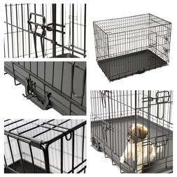 "36"" Pet Animal Kennel Pen Cat Dog Crate Travel Carrier Foldi"