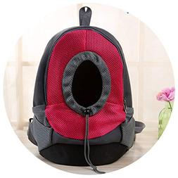 shine-hearty Pet Backpack Bags Pet Dog Front Bag Puppy Cat P
