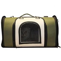 shine-hearty Pet Bag Dog Cat Outdoor Cage Bag Teddy Puppy Do