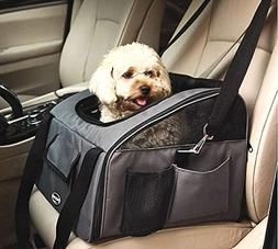 Pettom Pet Car Seat Carrier Airline Approved Dog Cat Lookout
