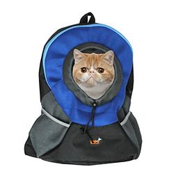 Ondoing Pet Carrier Backpack Adjustable Dog Puppy Cat Front