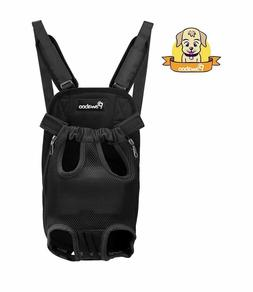 PAWABOO Pet Carrier Backpack Adjustable Front Cat Dog Carrie