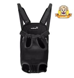 PAWABOO Pet Carrier Backpack, Adjustable Front Cat Dog Carri