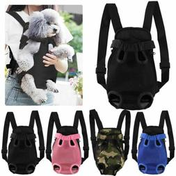 Outdoor Legs Out Front Dog Puppy Cat Pet Carrier Backpack To