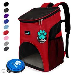 PetAmi Premium Pet Carrier Backpack for Small Cats and Dogs