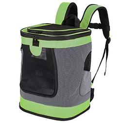 None Pet Carrier Backpack for Small Medium Dogs Cats, Airlin