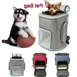 Pet Carrier Backpack Foldable Travel Cat Dog Breathable With