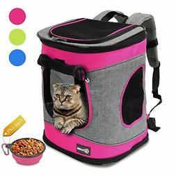 Pawsse Pet Carrier Backpack for Dogs and Cats up to 15 LBS C