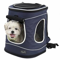 Petsfit Pet Carrier Backpack for Dogs Puppies Cats Rabbits U
