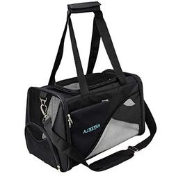 Katziela Pet Carrier - Soft Sided, Airline Approved Carrying