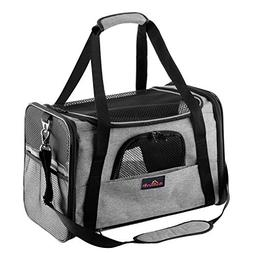 Aivituvin Pet Carrier for Dog and Cat,Soft Sided Collapsible