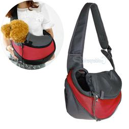 Pet Carrier Sling Breathable Mesh Travel Single Shoulder Bag