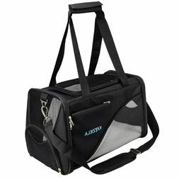 Pet Carrier - Soft Sided, Airline Approved Carrying Bag for