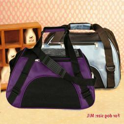 Pet Carrier Soft Sided Medium Cat / Dog Comfort Travel Bag A