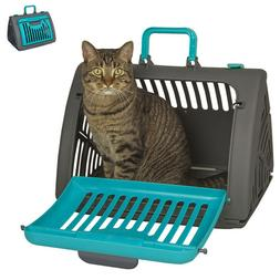 Foldable Pet Carrier Plastic Large Cat/Dog Comfort Travel Ba