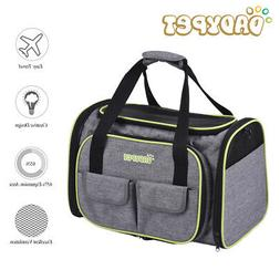 Pet Carrier Soft Sided Large Cat Dog Comfort Travel Bag Airl