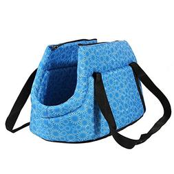 Pet Travel Carrier Tote Bag - TOOGOO Foldable and washable S