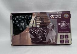 Pet Carrier Tote Up to 15 lb Meets Polka Dots Animal Cat Dog