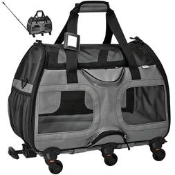 Petsfit Pet Carrier with Removable Wheels
