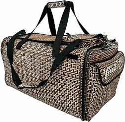 Pet Carrier with Wheels Soft Sided Portable Bag, Click-Out H