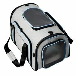 Pet Carriers Four Sides Expanded Dog Bag Puppy Car Travel Ba
