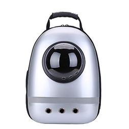 shine-hearty Pet Cat Backpack Breathable Reflective Stripes
