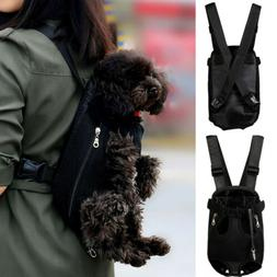 Pet Cat Puppy Dog Carrier Front Pack Hiking Backpack Head Le