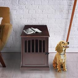 "Pet Crate End Table Size: 24.25"" H x 20"" W x 27.5"" D"