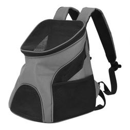 Pet Dog Backpack Carrier Puppy Pouch Breathable Mesh Front B