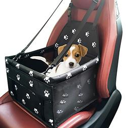 Pet Dog Car Booster Seat Carrier,Portable Foldable Carrier w