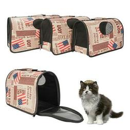 Pet Dog Cat Carrier Travel Bag Handbag Totes Carry and Small