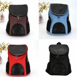 Pet Dog Cat Puppy Carrier Front Back Backpack Pet Carrying P