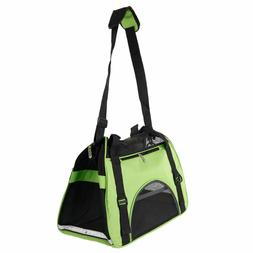 Pet Dog Cat Puppy Portable Travel Carry Carrier Tote Cage Ba