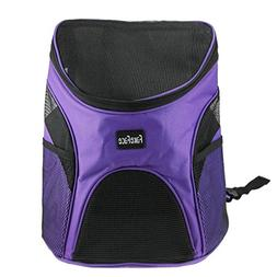 FakeFace Pet Dog Cat Puppy Soft-sided Mesh Carrier Backpack