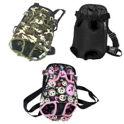 Pet Dog Nylon Mesh Carrier Backpack Puppy Cat Front Net Bag