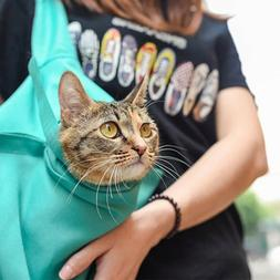 Pet Dog Puppy Cat Carrier Bag Pouch Outdoor Travel Sling Sho