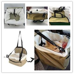 Pet Dog Puppy Cat Carrier Car Seat Cover Pad Safe Carry Bag