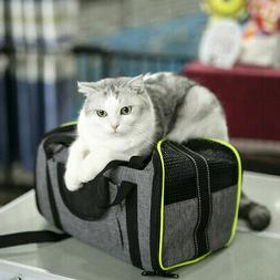 Pet Dog/Small Cat Carrier Soft Sided Comfort Bag Travel Case