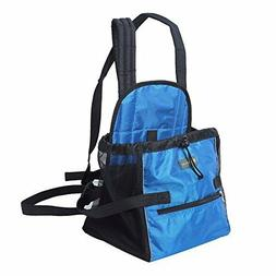 Pet Front Carrier For Small Dogs Cats Dog Carriers Pack Blue