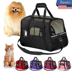 Pet Outdoor Carrier Backpack Cat Dog Puppy Travel Space Caps