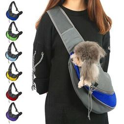 Pet Dog Cat Carrier Backpack Travel Front Pouch for Dogs Bik