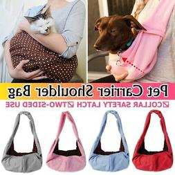 Pet Sling Carrier Bag Tote Shoulder Pouch Dog Puppy Purse Ou