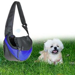Pet Sling Carrier Small Dog Cat Front Pack Chest Bag with Br