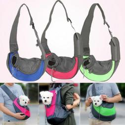 Pet Sling Carrier Small Dog Cat Sling Bag for Travel Front P