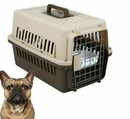 Pet Transport Box Small Puppy Dog Cat Air Plane Breathable T