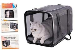 petisfam Top Load Pet Carrier for Large and Medium Cats, Sma