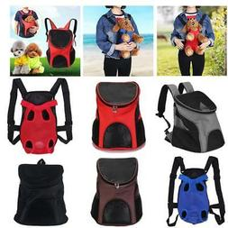Portable Cat Dog Pet Carrier Mesh Pup Pack Soft-sided Outdoo