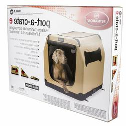 Portable Crate Soft Travel Carrier Cage Pet Large Trained Do