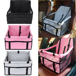 Portable Dog Car Seat Belt Booster Carrier Bag for Pet Cat P