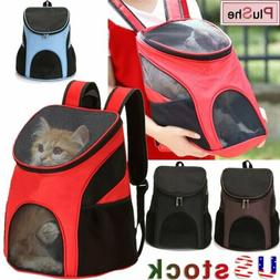 Portable Dog Cat Backpack Outdoor Pet Carrier Front Travel M